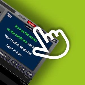 LYRX karaoke software - using LEARN