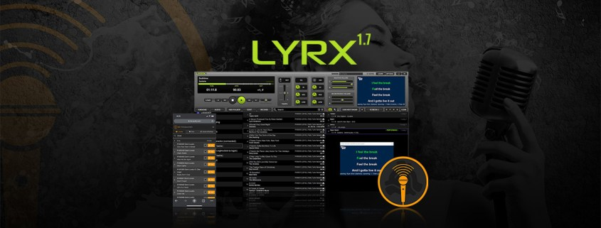 LYRX Karaoke Software with Online Songbook System