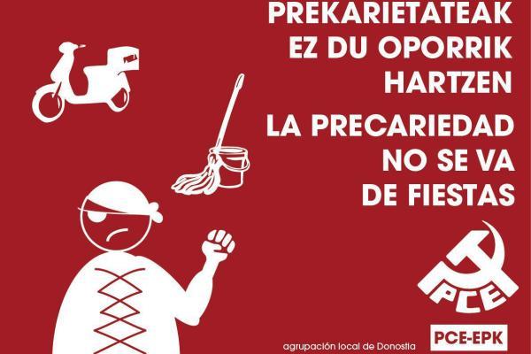 Donostiako aste nagusia: Continúa la lucha contra la precariedad y el machismo.