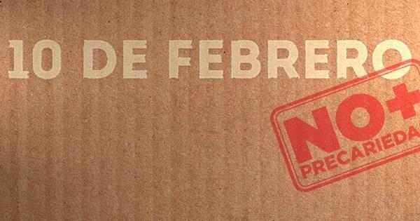 Movilizaciones contra la precariedad: Otsailak 10 de Febrero.