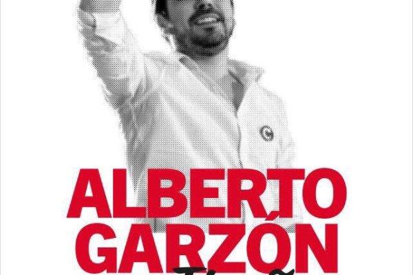 Alberto Garzón, coordinador general de IU en Pamplona el 9 de Febrero.