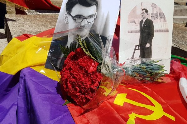 Homenaje al dirigente del PCE Jesús Carrera Olaskoaga en Hondarribia. Sábado 28.