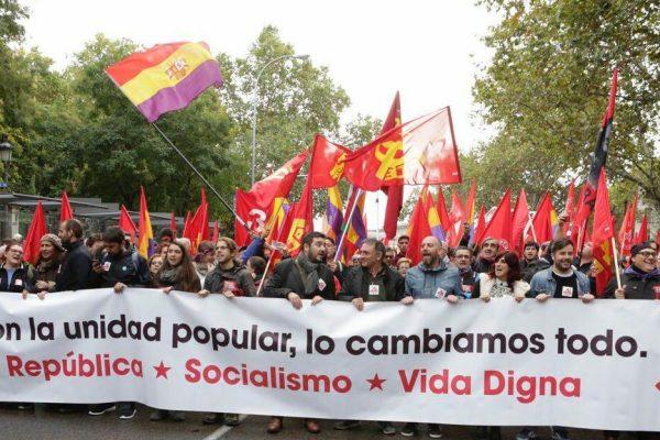 Artículo de opinión: El PCE de nuevo con el pueblo español.