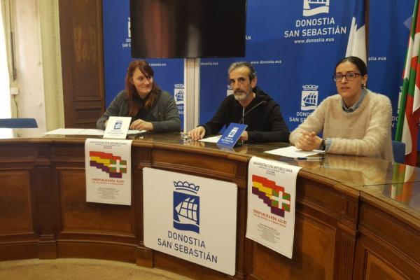 El movimiento Republicano de Euskadi convoca una manifestación por la República coincidiendo con 40 el aniversario de la Constitución.