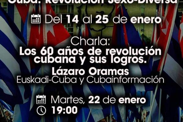 Exposición y Charla, 60 aniversario de la Revolución Cubana.