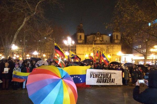 El Partido Comunista de Euskadi considera inadmisible que el Parlamento vasco pueda alentar un golpe de Estado en Venezuela.