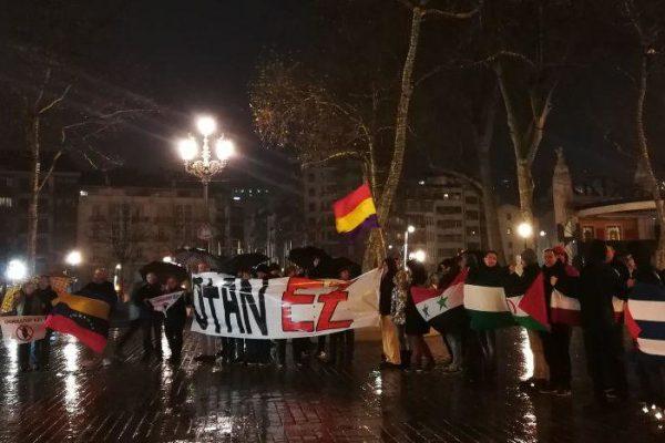 Plataforma anti OTAN en el 33 aniversario del referendum. Entrevista a Mar Crespo en Radio Popular-Herri Irratia