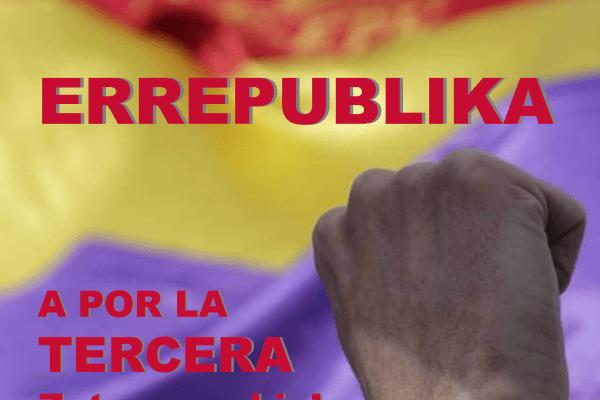 El Partido Comunista de Euskadi-EPK pide a la ciudadanía vasca mostrar su rechazo a la monarquía corrupta el próximo 14 de Abril desde ventanas y en las redes sociales.