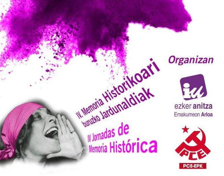 IV Jornadas de Memoria Histórica. Feminismo y proceso constituyente.