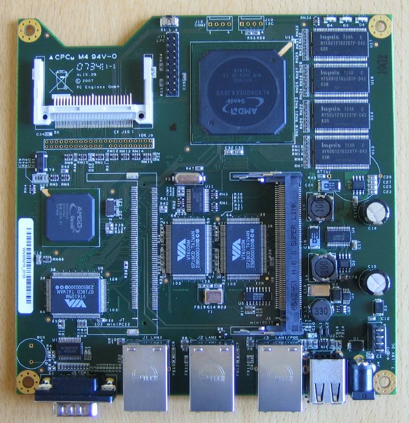 PC Engines ALIX 2b3 Single-board Computer