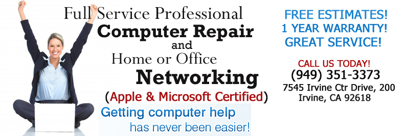 BEST Computer Repair in Irvine