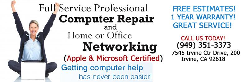 Computer Repair – Irvine