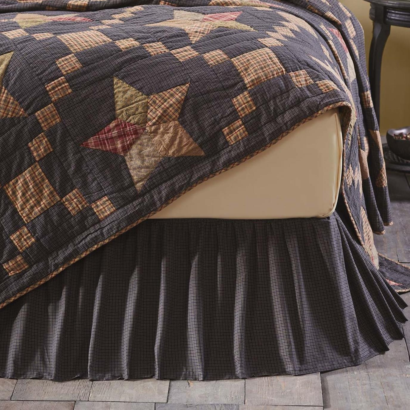 Arlington King Bed Skirt 78x80x16 By Mayflower Market