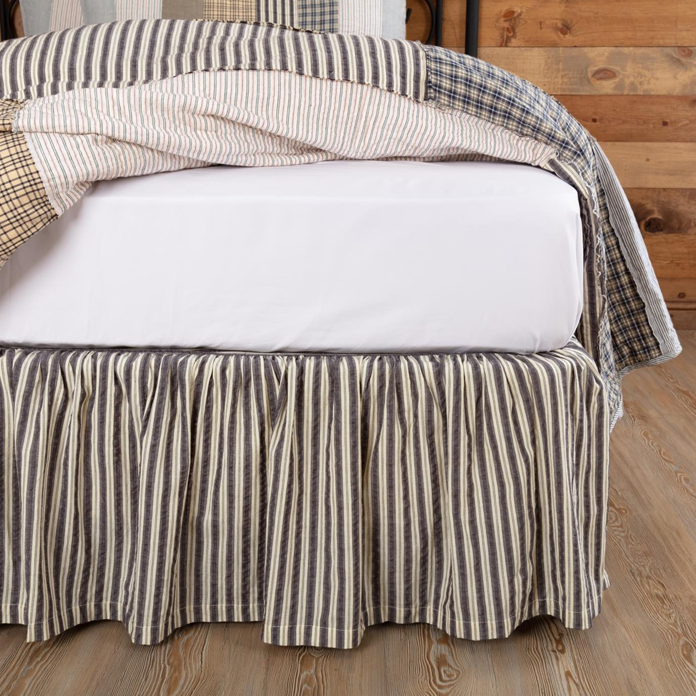 Ashmont King Bedskirt By Vhc Brands
