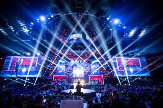 כך נראה בשנה שעברה הגמר ב-Intel Extreme Masters