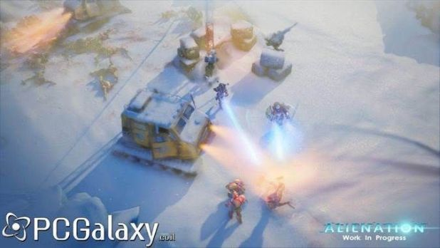 Alienation Gameplay Screenshot