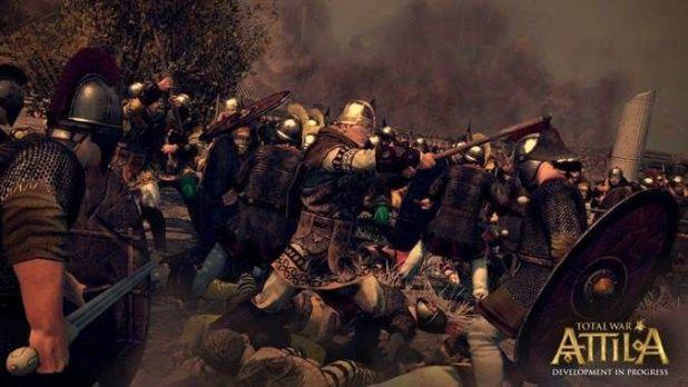 Total War Attila -קרב