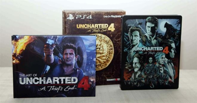 UNCHARTED 4 SPECIAL EDITION.