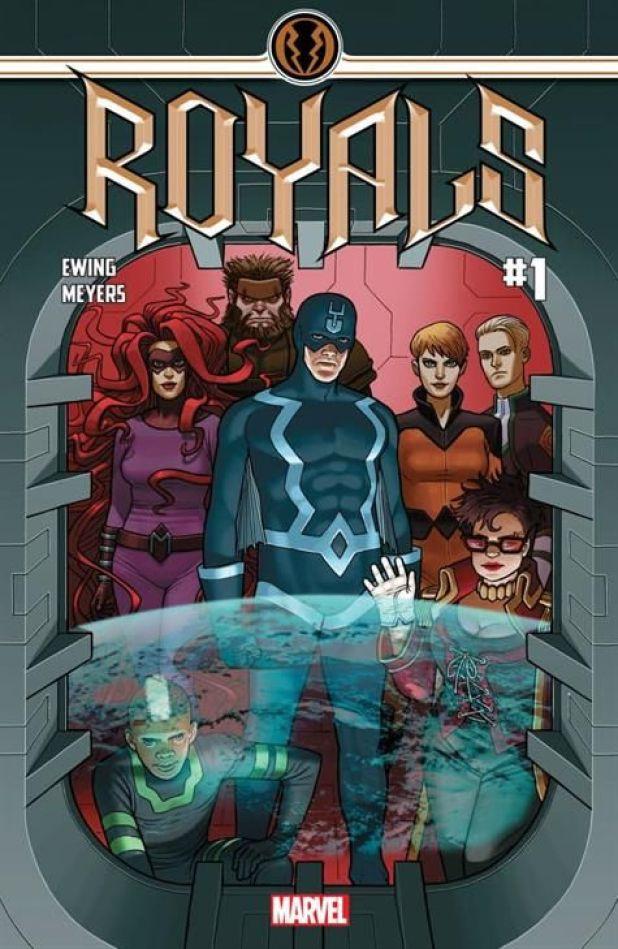Marvel inhumans royals
