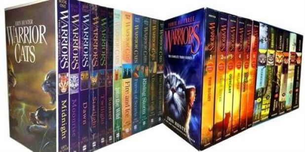 warriors entire series of books