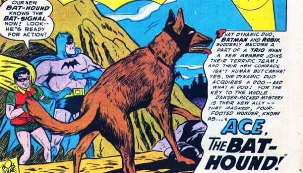 Batman Ace Bat-Hound Dog