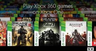 Xbox One Backward