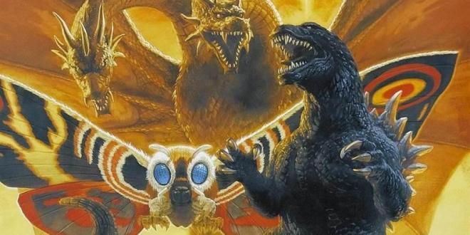 Godzilla 2 Ghidorah Mothra