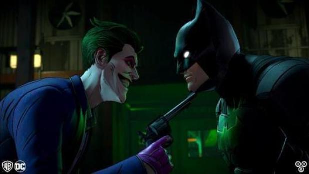 Batman The Enemy Within Same Stitch