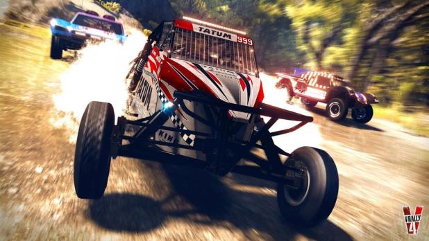 אחד הדברים המעניינים במשחק V-Rally 4 הוא היצע המכוניות - הבאגי זה הטופ