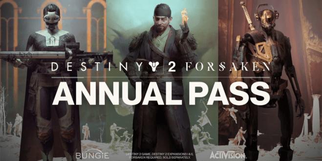 Destiny 2 Annual pass