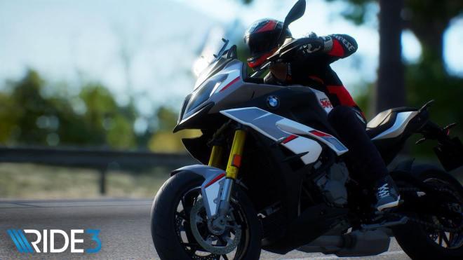 סדרת אופנועי היוקרה של BMW מופיעה במלואה במשחק RIDE 3