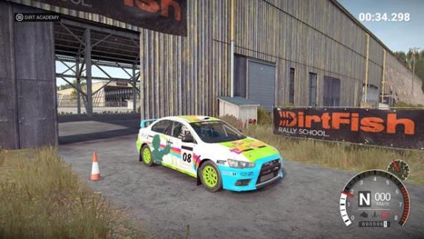 Dirt Rally 2.0 ACADEMY