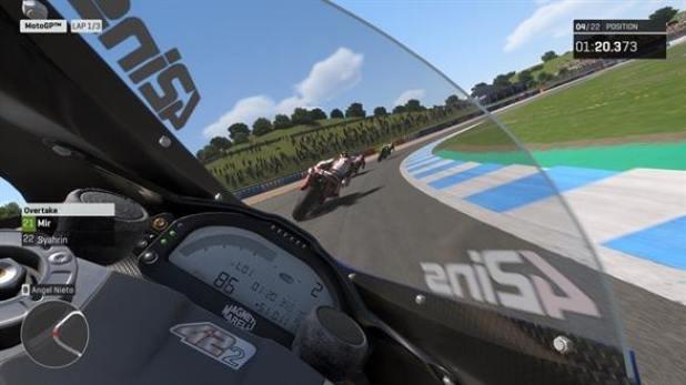 מצב המצלמה האהוב עליי במשחק MotoGP19