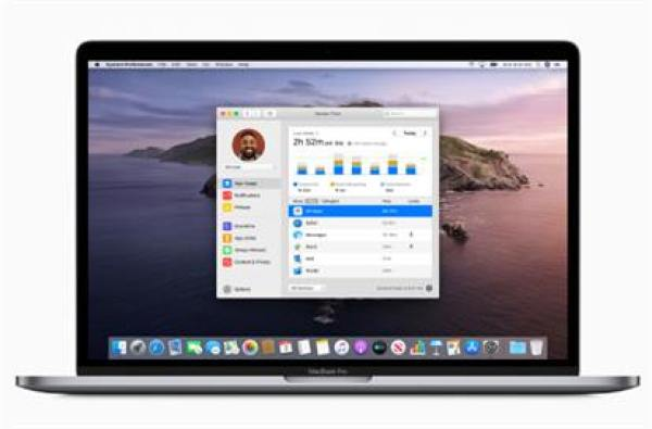 WWDC Mac OS Catalina Screen Time