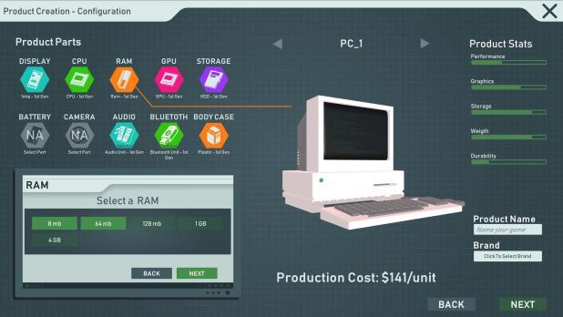 Creation Product TechCorp