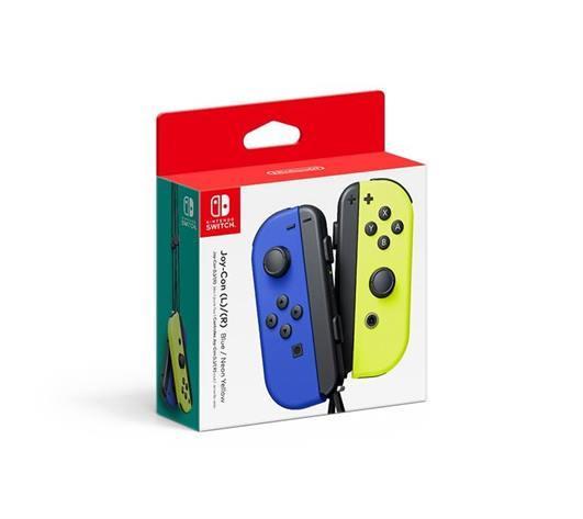 Blue Yellow JoyCon