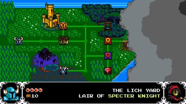 Shovel Knight Map