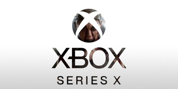 Xbox Series X logo with lunch game
