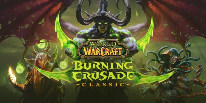 World of Warcraft Burning Crusade Classic logo
