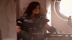 Gina Carano as Cara Dune in the first season of Star Wars: The Mandalorian