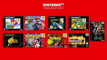 Das Line-up für N64