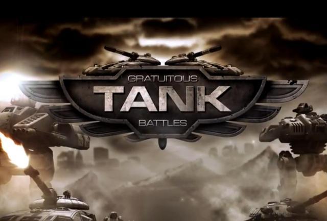 Gratuitous Tank Battles Echtzeit Strategie Spiel Mit