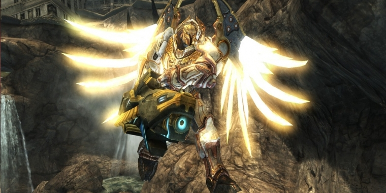 Darksiders appear in revised form for consoles.