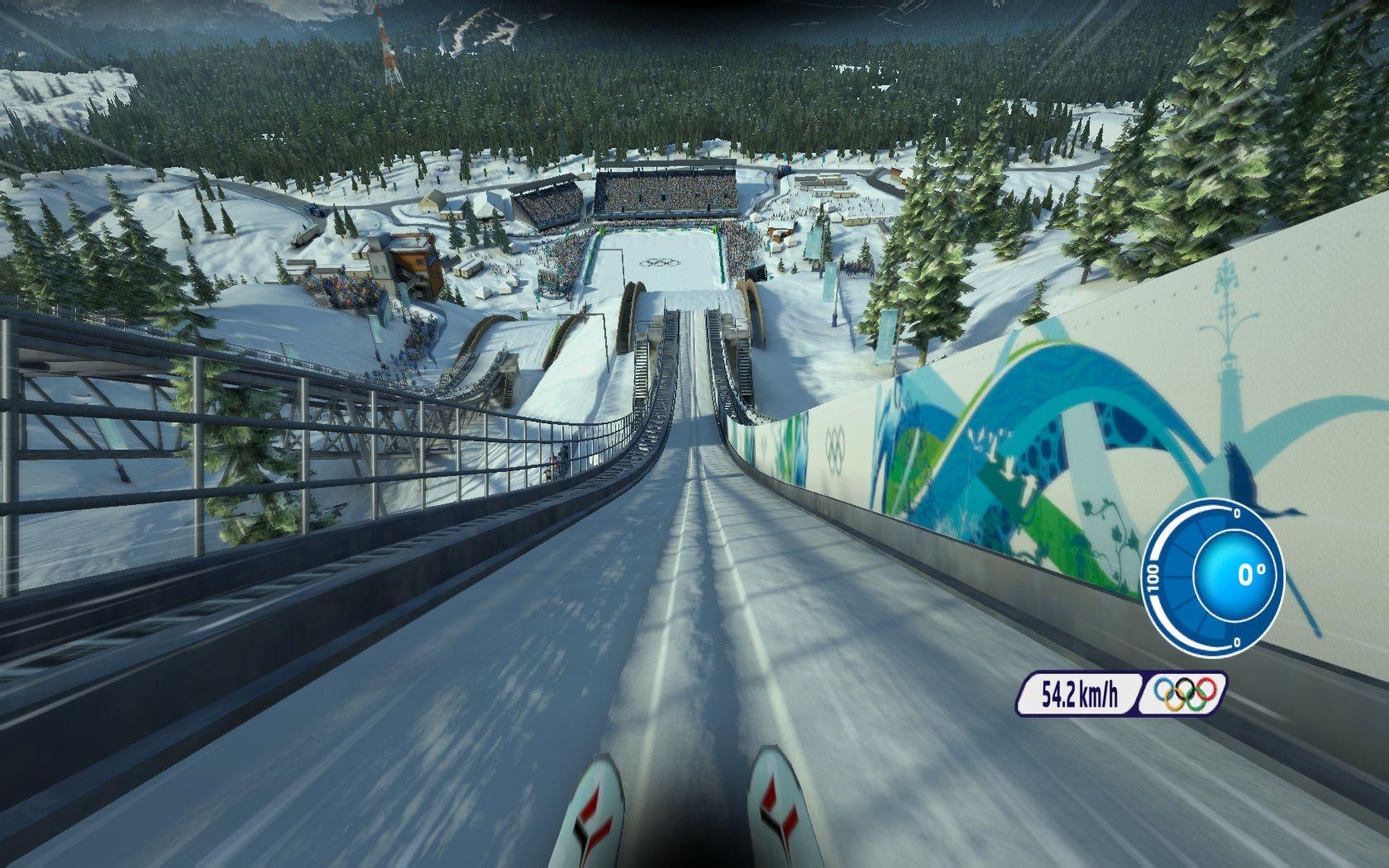 Vancouver 2010 Das Offizielle Videospiel Der Olympischen