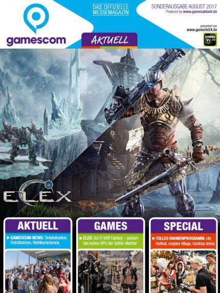 gamescom Aktuell Sonderausgabe August 2017