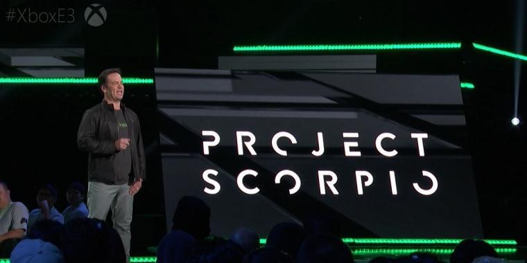 Project Scorpio wird auf der E3 2017 endgültig enthüllt.