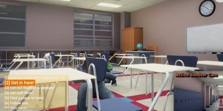 Amokläufe an Schulen: Simulator aus den USA soll Lehrkörper schulen