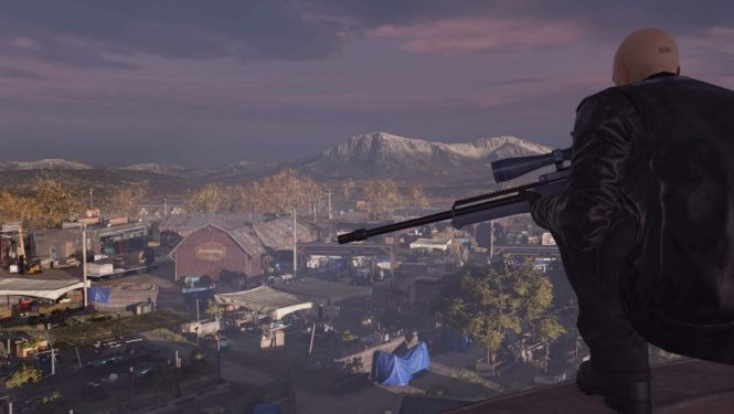 The hitman takes the high ground in one of the best sniper games, Hitman