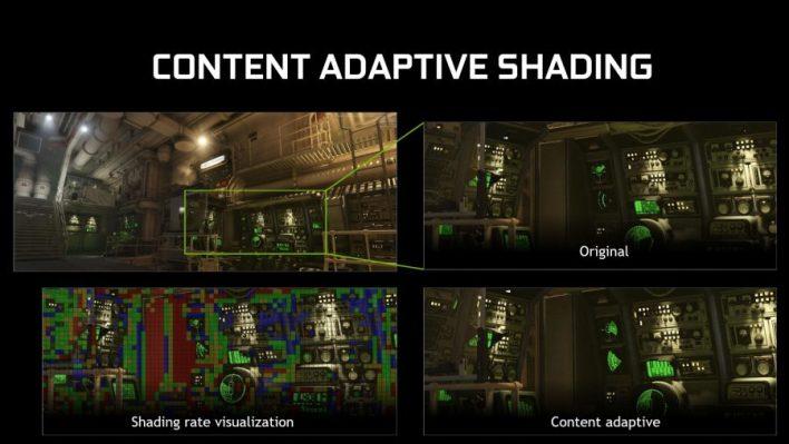 Nvidia Turing Content Adaptative Shading