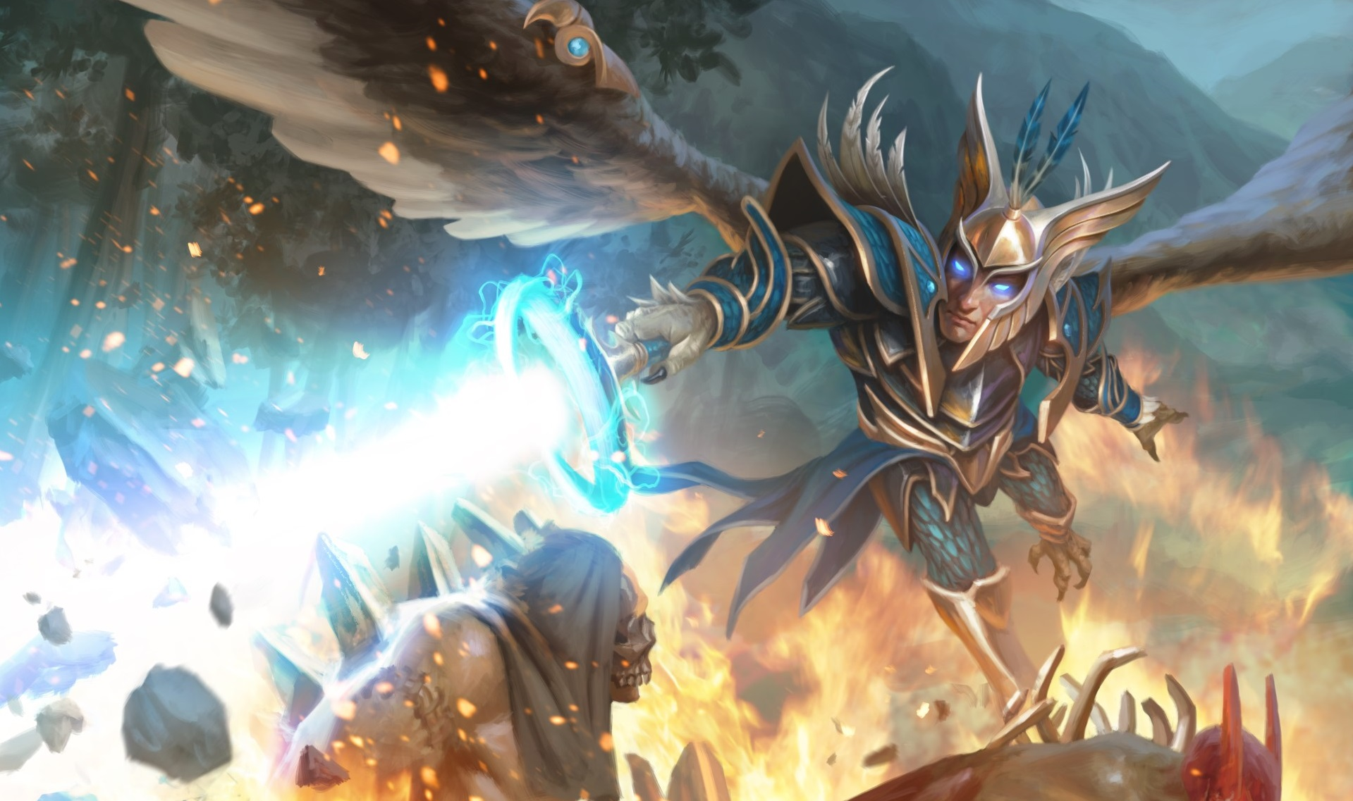Here Are Four New Artifact Cards Including Skywrath Mage